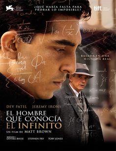 Poster de El hombre que conocía el infinito