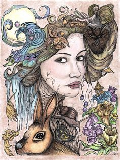 mother earth Goddesses tattoo - Google Search
