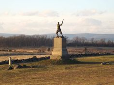 Monument to the 72nd Pennsylvania at The Angle - Gettysburg