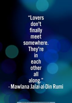 rumi lovers love