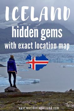 Iceland off the beaten path with the exact map of hidden gems in Iceland. List of must see places in Iceland with no tourists | Worldering around
