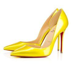 Women Shoes - Iriza Metal Patent - Christian Louboutin