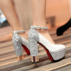 19 fancy shoes to inspire everyone 16 Gold Prom Shoes, Fancy Shoes, Pretty Shoes, Prom Heels, Satin Shoes, Strappy Shoes, Women's Shoes, Buy Shoes, Stiletto Heels