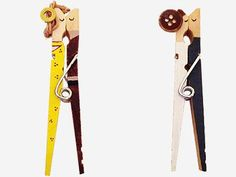 DIY Couples Clothespin Dolls --                 DIY Dollhouse --                                         DIY Toys -- DIY Crafts