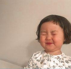 Cute Baby Meme, Baby Memes, Cute Memes, Cute Asian Babies, Korean Babies, Cute Babies, Baby Kids, Cute Relationship Texts, Cute Relationships