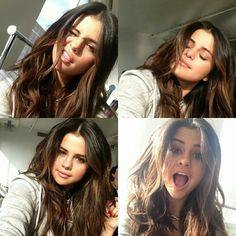 selena gomez, hair, and selfie image