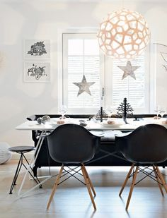 A Scandinavian Home In Christmas Mood