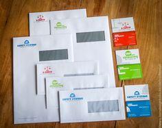 Designs logo's met bijpassende huisstijlen voor onze klant de groep Safety Systems // inclusief drukwerk   @www.twindesignbvba.be