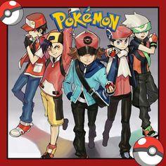 An Introduction to Anime & Manga Pokemon Go, Pokemon Fan Art, Pokemon Games, Red Trainers, Pokemon Special, Bd Comics, Pokemon Pictures, Manga Games, Digimon