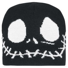 Reversible Jack Skellington Beanie Reversible Jack Skellington Beanie Disney Accessories Hats