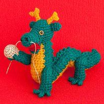 干支のあみぐるみ2012辰 手編みと手芸の情報サイト あむゆーず
