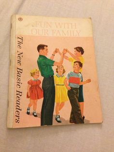 1962 Dick and Jane Basic Reader Fun With by sweetserendipityvint, $35.00