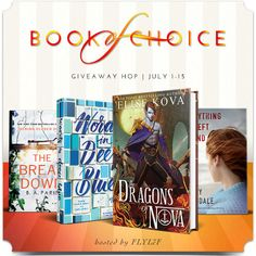 FLYLēF - Young Adult Book Blog for Reviews and Giveaways: July Book of Choice Giveaway Hop