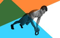 Holding the weight upside down will light your abs on fire