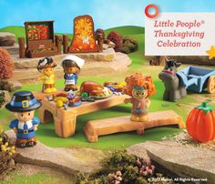 Make the Little People® friends part of your family's traditions year after year. Happy Thanksgiving! #FisherPrice #Toys #Playtime