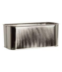 Hu0026M Metal Storage Box
