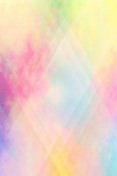 Fond d'écran / wallpaper paillettes multicolores galaxie losange