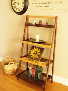Ana White   So Easy...love the ladder shelf. - DIY Projects