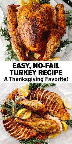 Best Thanksgiving Turkey Recipe - So Easy!