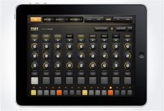 DM1 Drum Machine app  Create your own thick beats & tasty treats