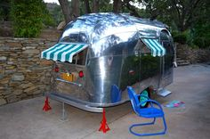 1957 Airstream Bubble 16 Lightweight Dinette Huge Bed Full Kitchen Bathroom Ca Vintage TrailersVintage