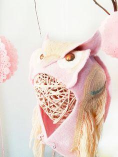 Owl Winter Baby Hat by PettiBearKIDS on Etsy, $48.00
