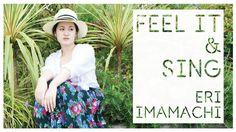 シンガーソングライター今町衣里「FEEL IT & SING 」カバー写真 アートワーク 写真撮影 デザイン Designed by NOAH-Presso Singing, Feelings, Design