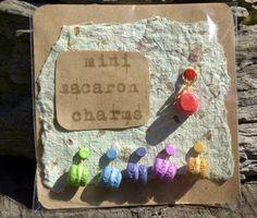 Mini Macaron Charms https://www.etsy.com/au/shop/LillywitchHollow