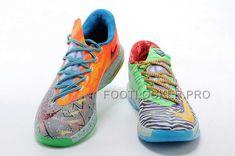 167f63ae02be Discount Nike Zoom KD Vi Mens Geometry Black Orange Green