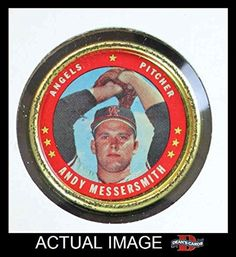 1971 Topps Coins # 112 Andy Messersmith Los Angeles Angels (Baseball Card) Dean's Cards 4 - VG/EX -- Awesome products selected by Anna Churchill