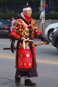 skryfblok: Gochang Moyang Fortress Festival Parade