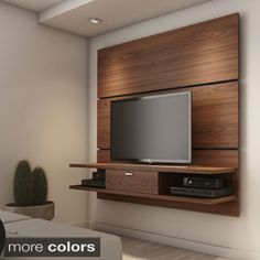 Manhattan Comfort 2-shelf, 1-drawer Metropolitan Entertainment Center | Overstock.com Shopping - The Best Deals on Entertainment Centers