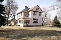 Here is your opportunity to own a piece of history in this turn of the century Historic home in Mayville. This home has approximately 3380sq/ft of finished area to include 4+ bedrooms 2 bath rooms, theater room and lots of living space, large lot, triple detached garage, NEW windows, electrical, plumbing, insulated walls, walk up attic and much more. This is a MUST SEE!!!
