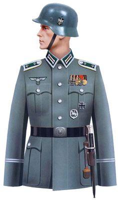 WEHRMACHT - Obergefreiter der Kavalerie Ww2 Uniforms, German Uniforms, Military Uniforms, Military Art, German Soldiers Ww2, German Army, Armadura Medieval, Army Uniform, Armed Forces