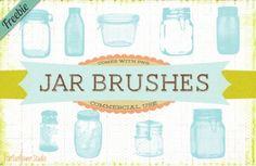 Four words: free vintage jar brushes!*
