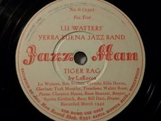 "First and Big Auction 78rpm in 2017 Come in & find out :-)  !!! Startprice only 1,99 Euro !!! Worldwide shipping !!!  LU WATTER'S YERBA BUENA JAZZ BAND ""Come Back Sweet Papa / Tiger Rag"" Jazz Man"