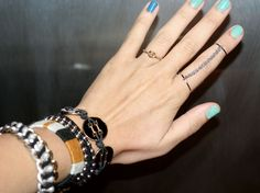 DIY: double chain ring