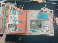 Scrapbook álbum 8