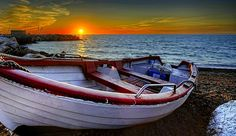 Sunset boats free wallpapers hi res high resolution