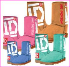 One Direction UGG Boots!!!!!!!!! I NEED THESE!!!!! <3