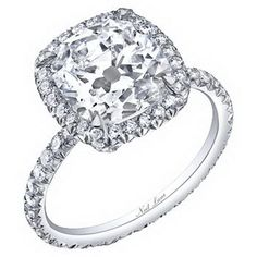 The ultimate Jenny Candy... my truly perfect ring.  Hey, a girl can dream!  Neil Lane Rings