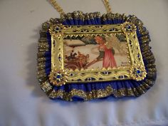 Victorian Style CHRISTMAS ORNAMENT  by TSUSENCOLLECTIBLES on Etsy, $26.99