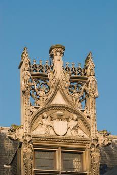 PARIS, HÔTEL DE CLUNY, Gothic architecture 5. Arrondissement, Musée de Cluny (1485–1500 ) Romanesque Architecture, Renaissance Architecture, Architecture Details, Early Middle Ages, Arrondissement, Paris Hotels, France, 12th Century, Great Shots