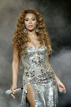 Beyonce silver sequin party dress.
