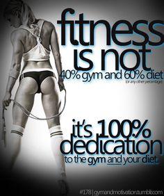 100% dedication    www.laurafortefitness.com