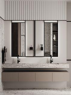 Bathroom Toilets, Small Bathroom, Master Bathroom, Washroom, Restroom Design, Vanity Design, Toilet Design, Bathroom Design Luxury, Apartment Interior