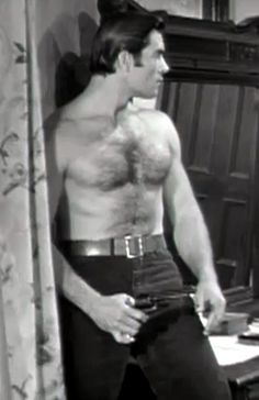 Last week, after declaring Marlon Brando to be the most beautiful man who ever lived, I started thinking about other Hollywood actors who have made our hearts flutter on the silver screen. CLINT WALKER Words to live by: There is a lot of stuff now that is in bad taste, and I don't see the necessity …
