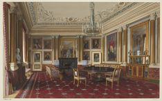 Buckingham Palace: the 1844 Room