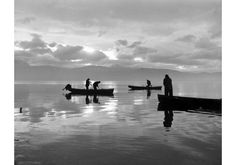 Fishing at dawn, Ioannina 1962 Photo by Kostas Balafas Benaki Museum Photographic Archives Benaki Museum, Greek Gifts, Fishing Photography, Museum Shop, French Photographers, Black And White Pictures, Black White, Social Events, Second World