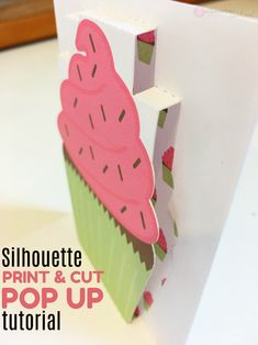 Silhouette Studio Pop Up Tool with Print and Cut Tutorial